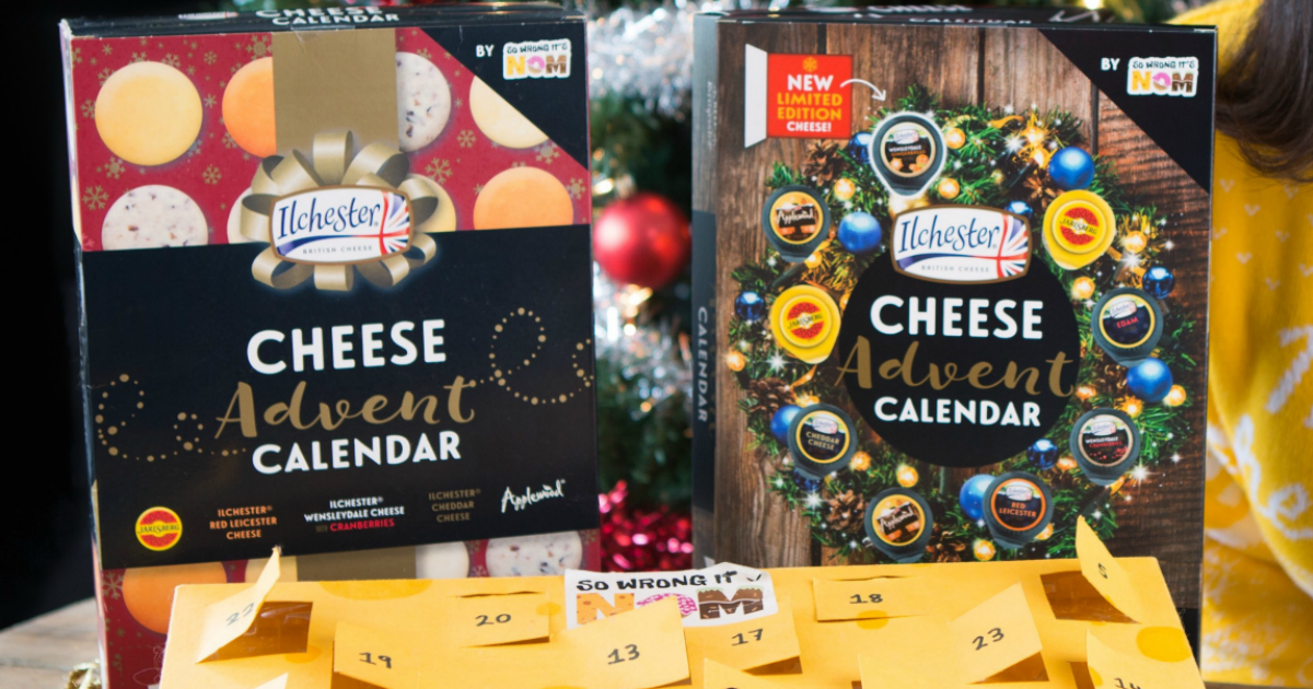 This Cheese Advent Calendar will be available at Target in November 2018.