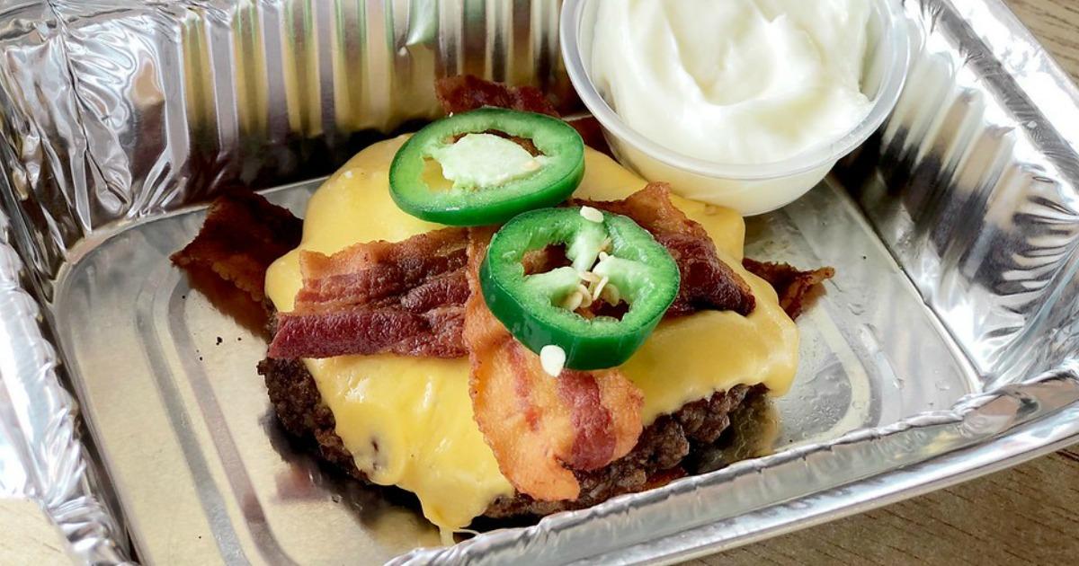Five Guys Keto Burger