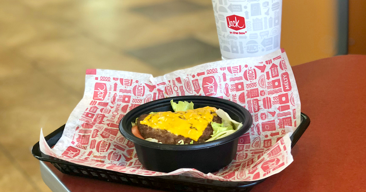 Keto Deal: Free Jumbo Jack Burger – Jack in the Box Keto Burger