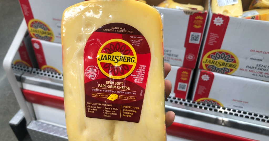 Jarlsberg cheese at Costco Hip2Keto