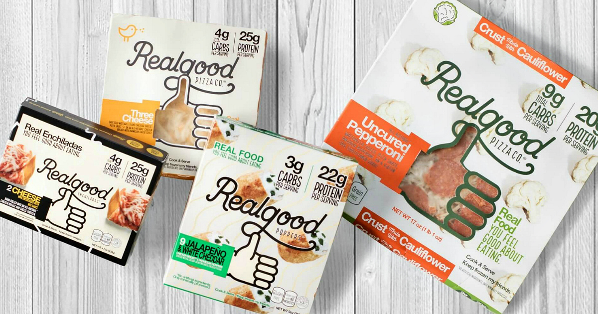 Realgood foods are keto friendly