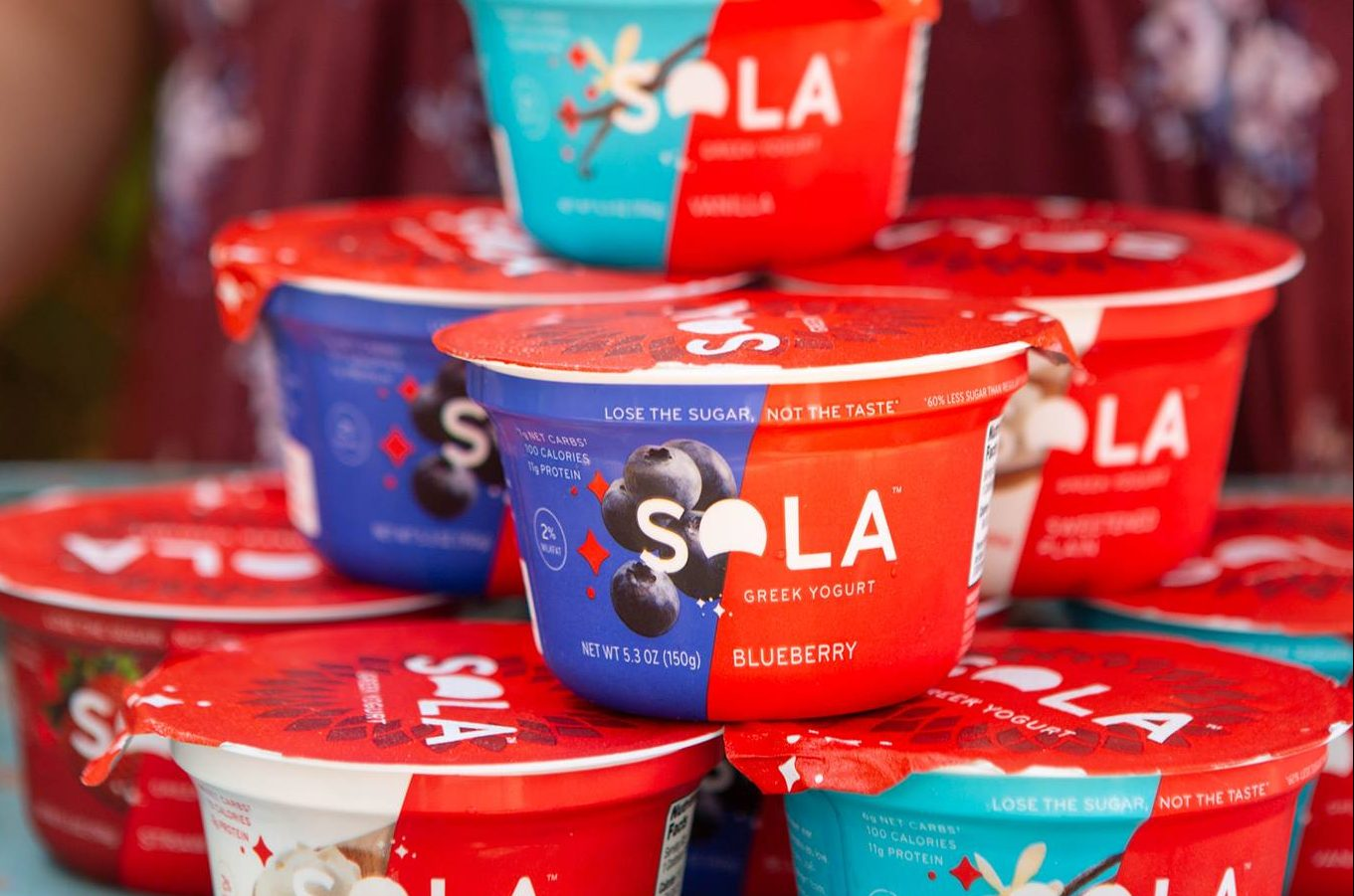 Buy cups of SOLA keto yogurt like these with a coupon from Hip2keto