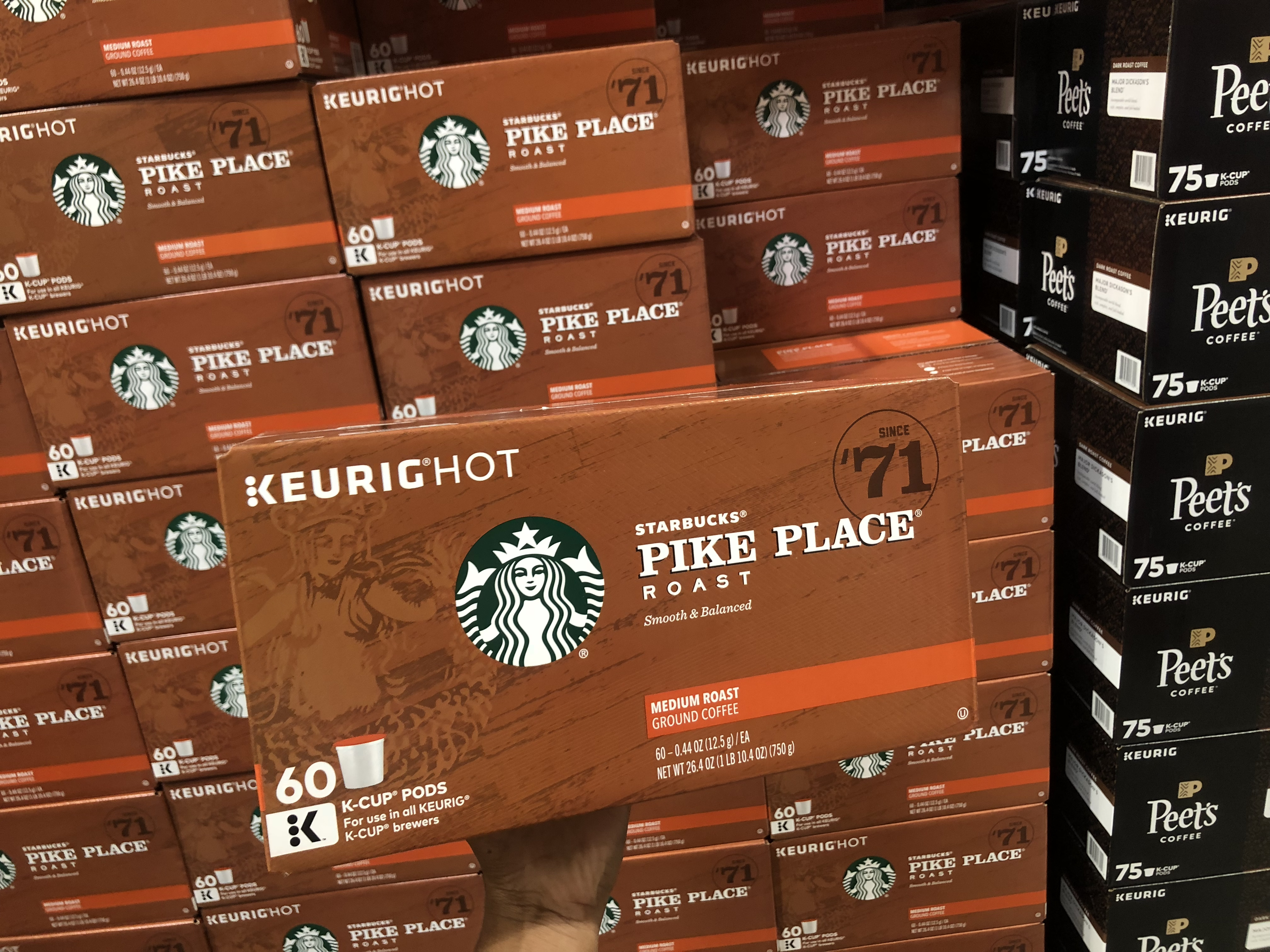 October 2018 keto Costco deals – Starbucks at Costco