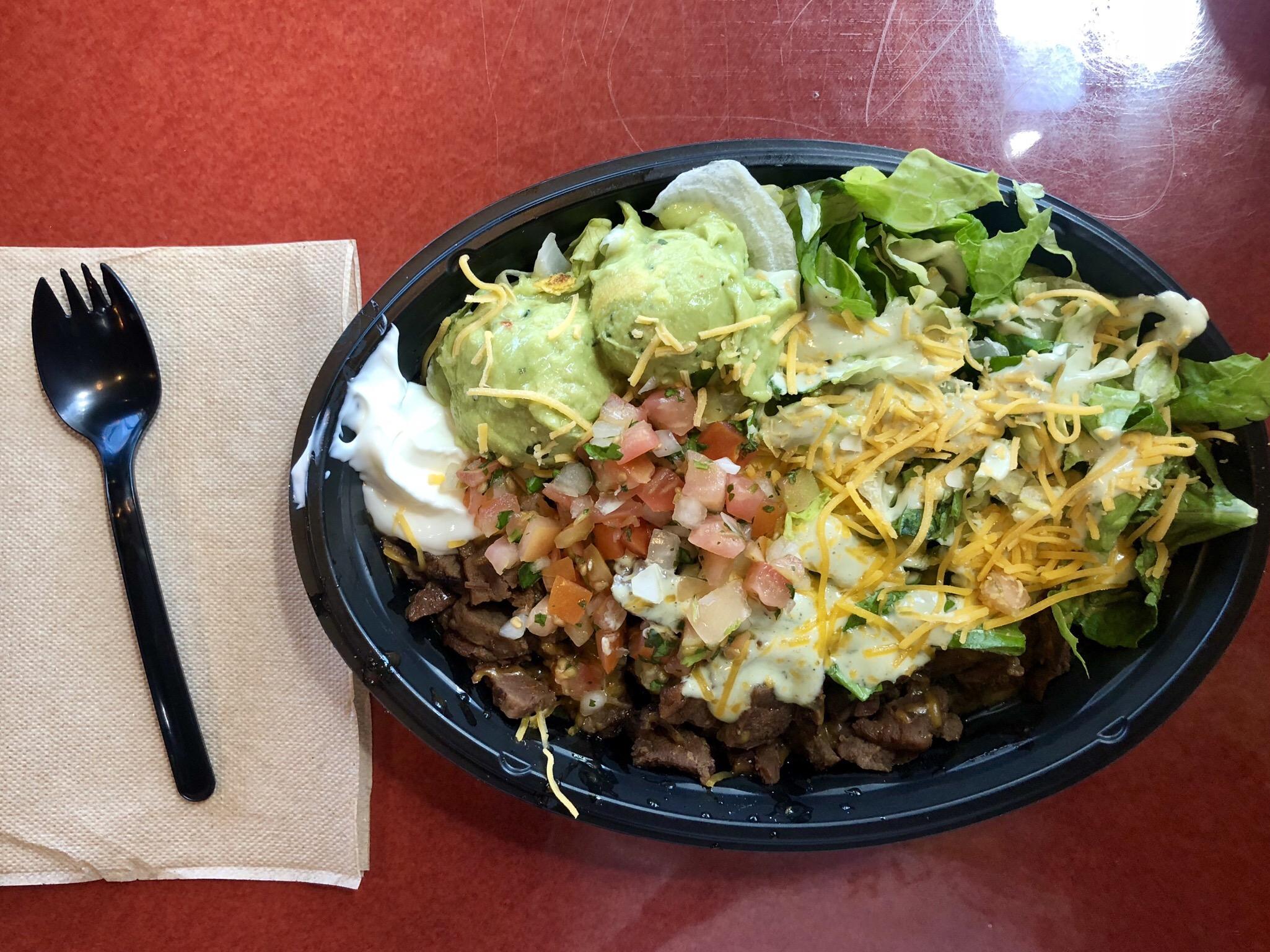 Taco Bell Steak Bowl