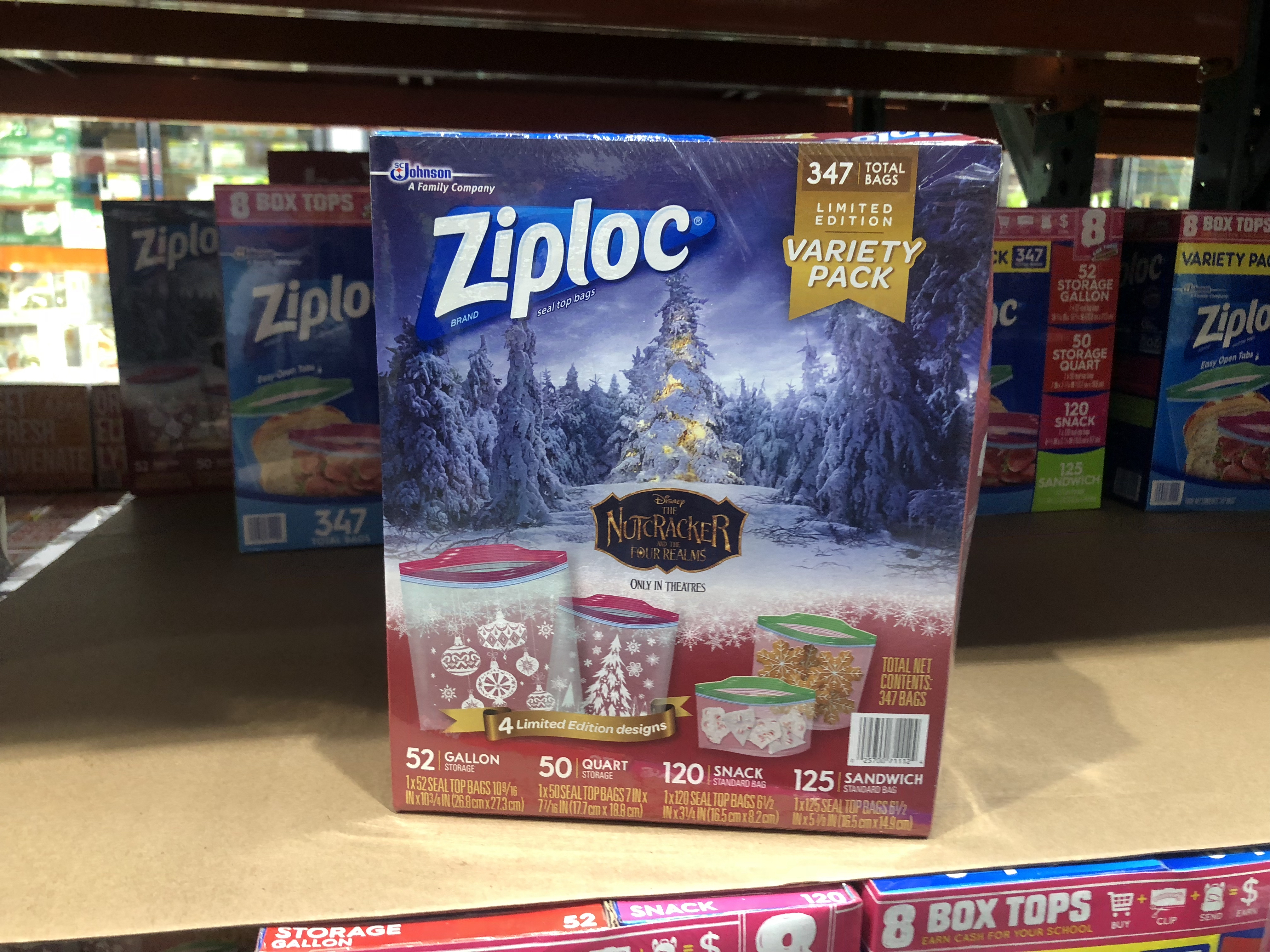 October 2018 keto Costco deals – Ziploc bags at Costco