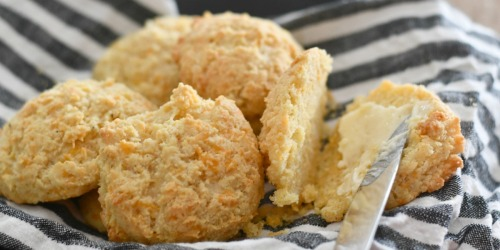 Homemade Keto Biscuits (Easy One Bowl Recipe!)