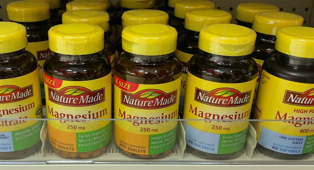 keto vitamins and supplements — bottles of magnesium