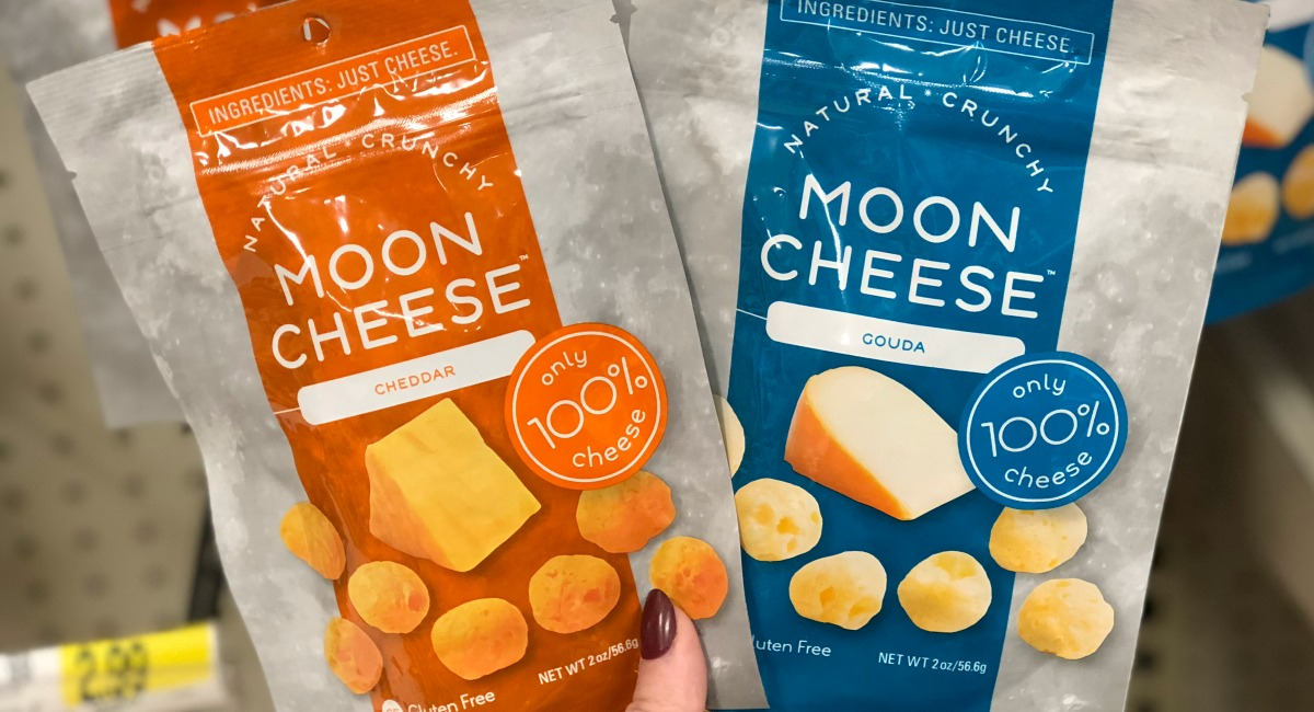 keto stocking stuffer ideas — moon cheese crisps snacks