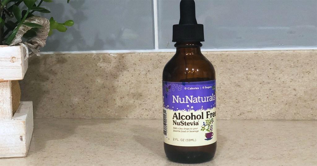 best stevia sweeteners — nunaturals alcohol-free nustevia