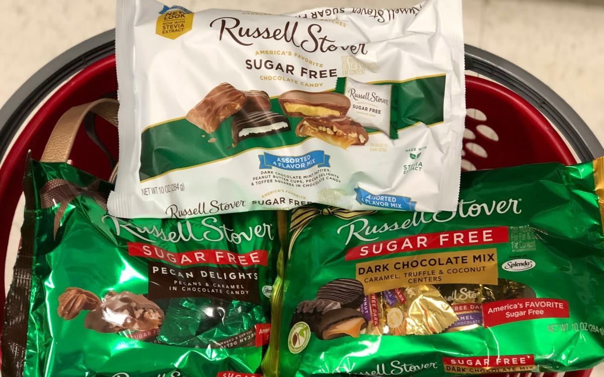 keto stocking stuffer ideas — russell stover sugar-free chocolates