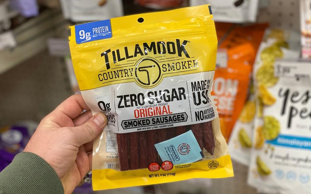tillamook sausages jerky