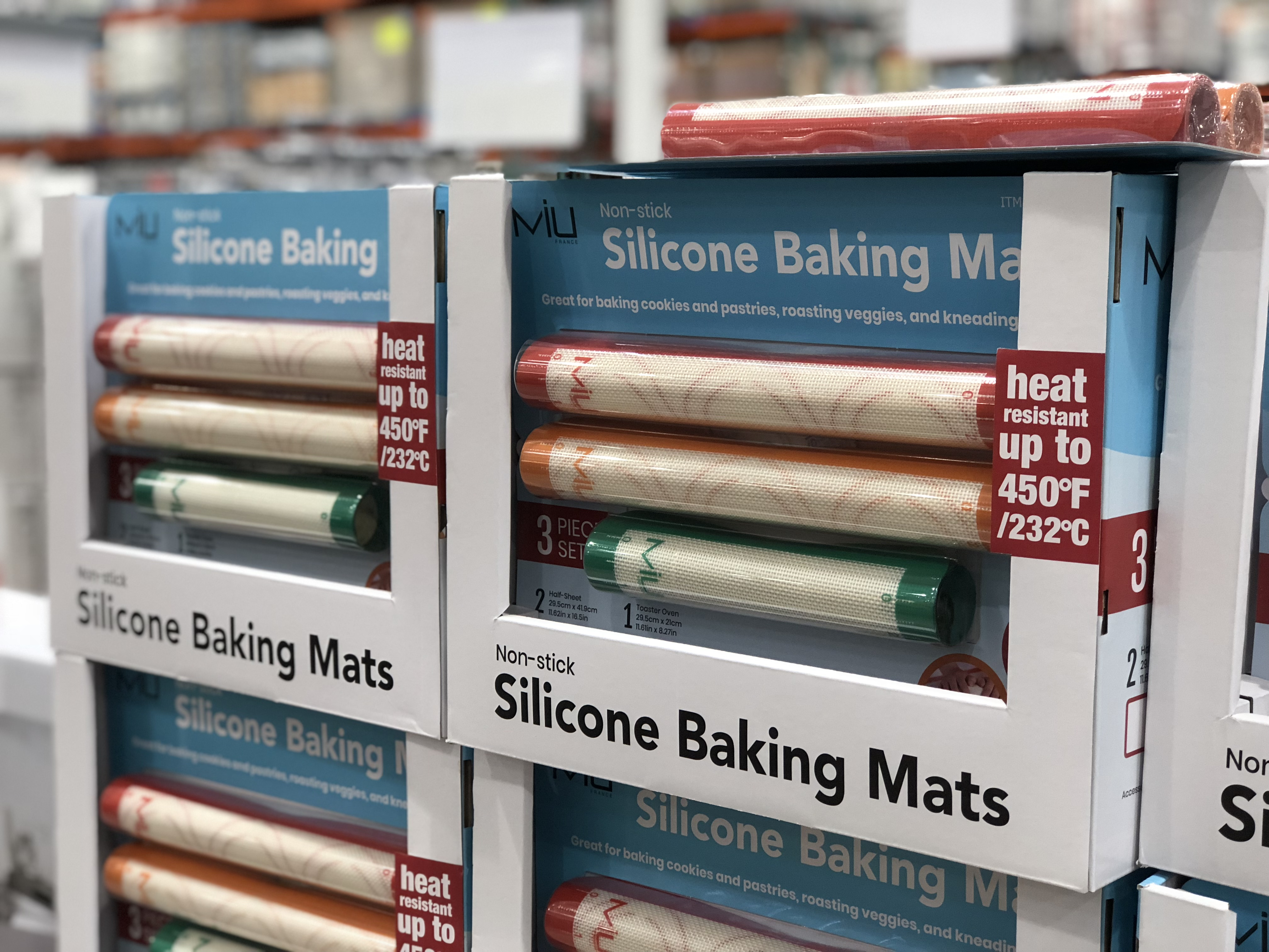 MIU Silicone Baking Mats at Costco