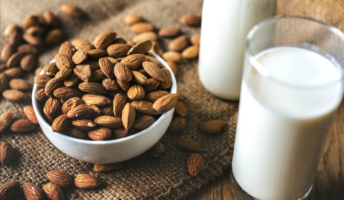 dairy free keto — almond and almond milk