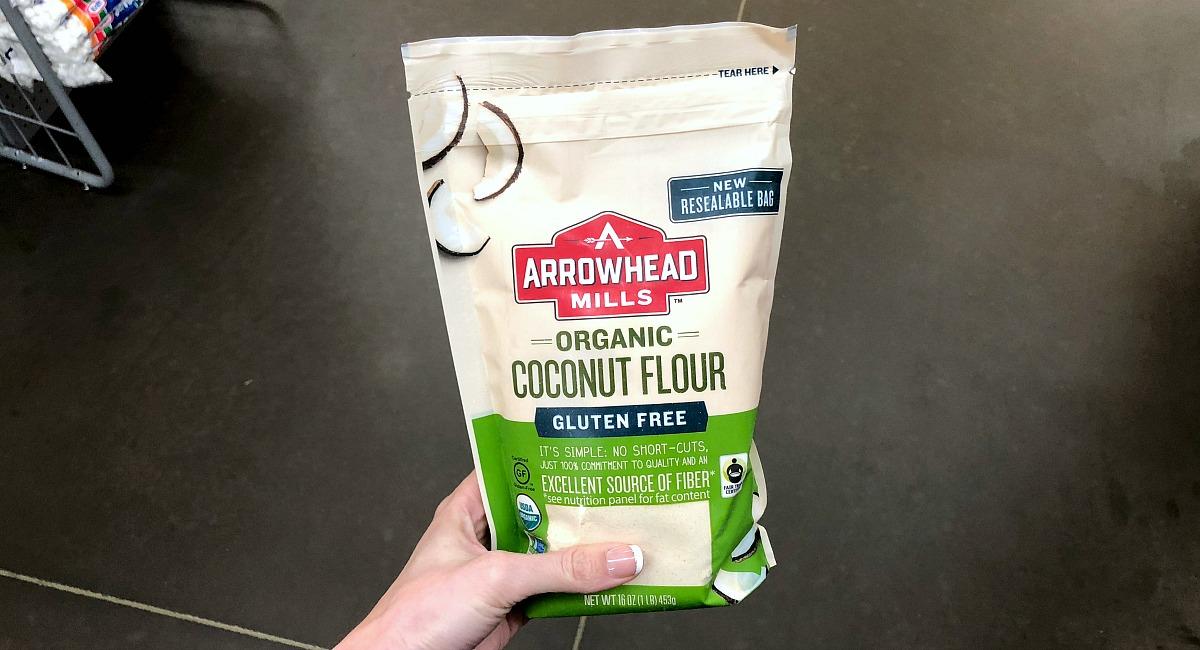 alternative flour comparison — arrowhead mills coconut flour