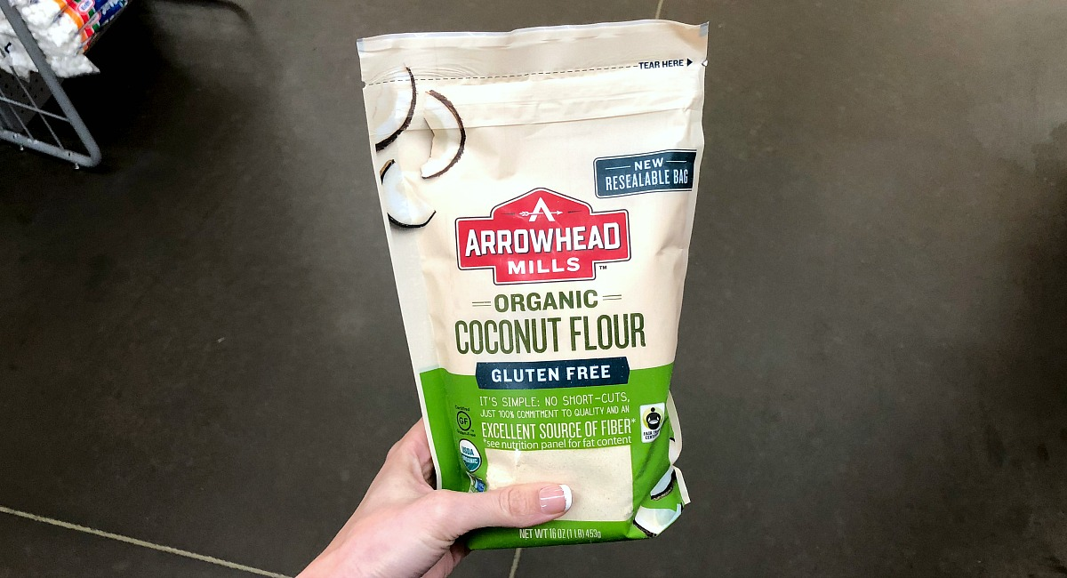 alternative flour comparison — arrowhead mills coconut flour