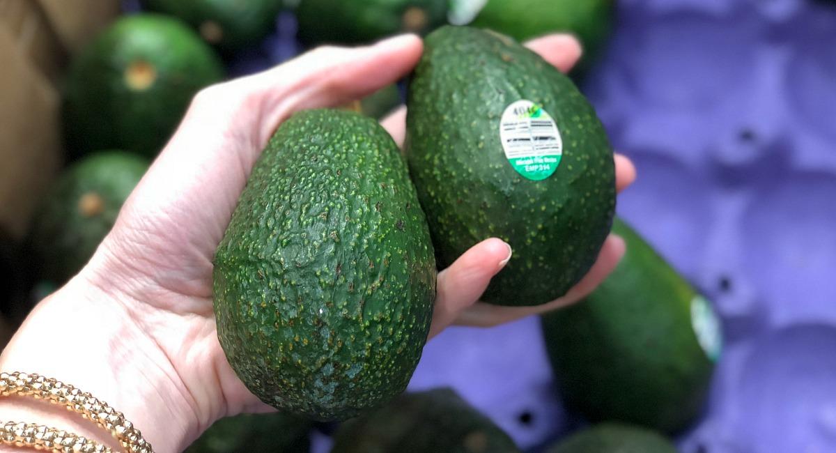 cheapest keto staples - avocados at aldi