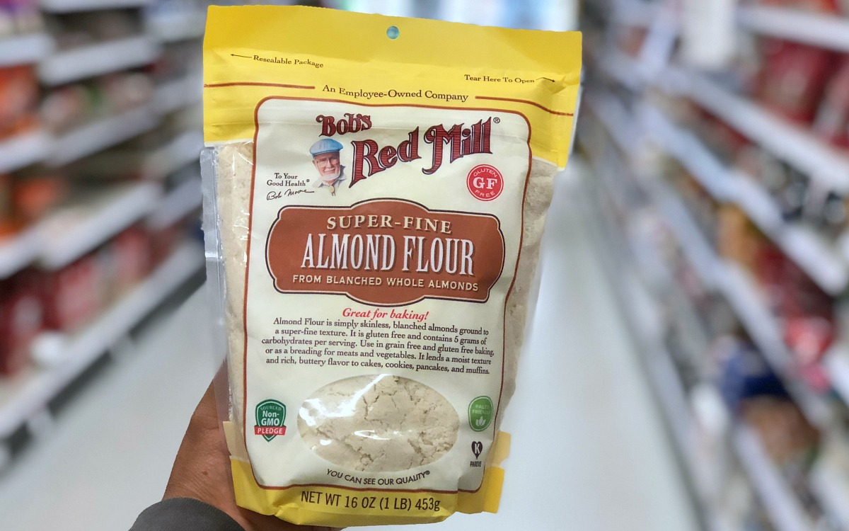 alternative flours — bob's red mill super fine almond flour