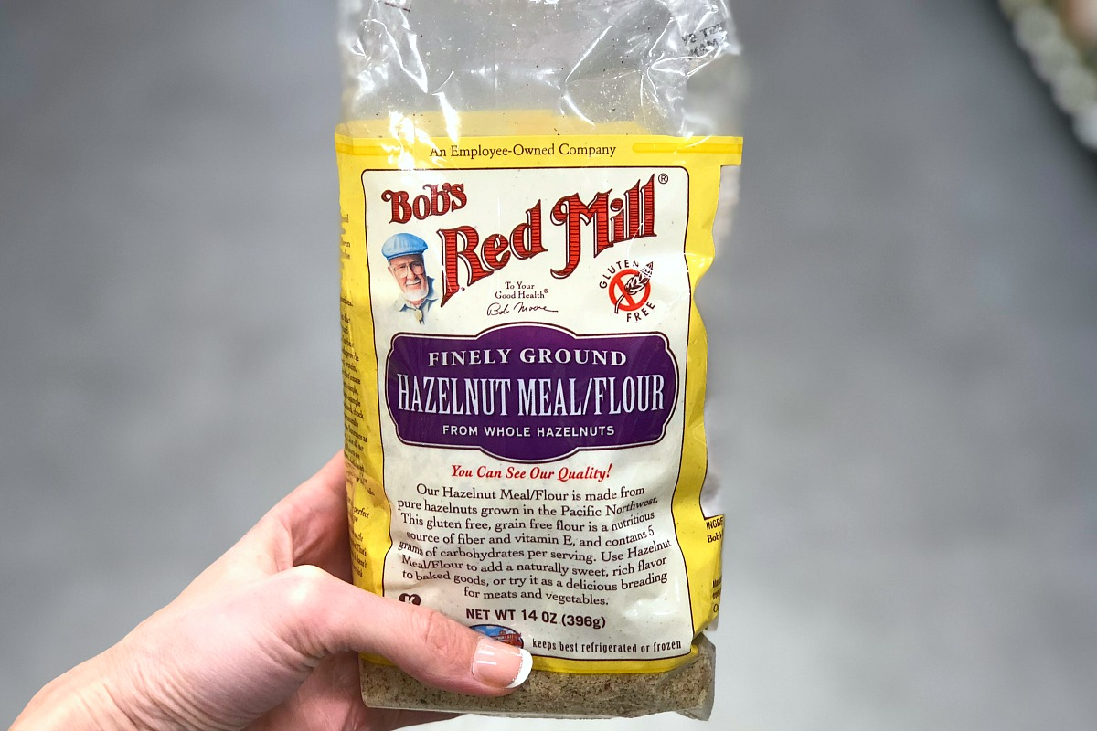 keto alternative flour — bob's red mill hazelnut meal/flour