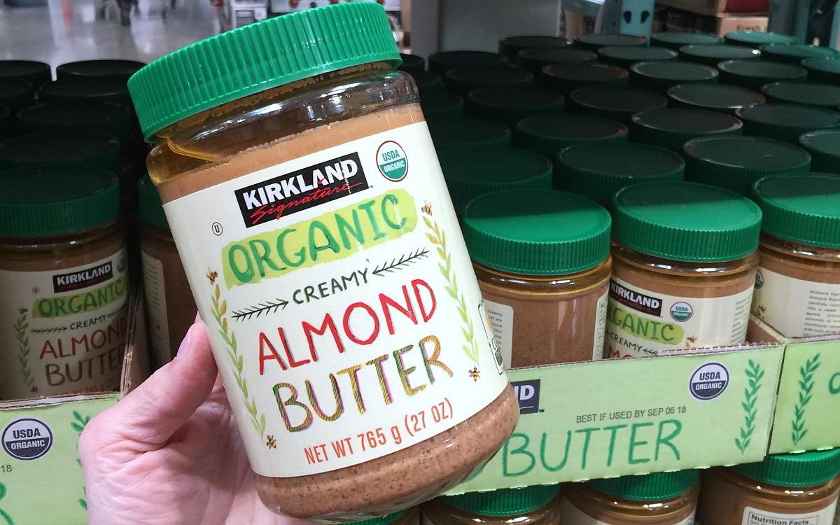 cheapest keto staple — kirkland almond butter at costco