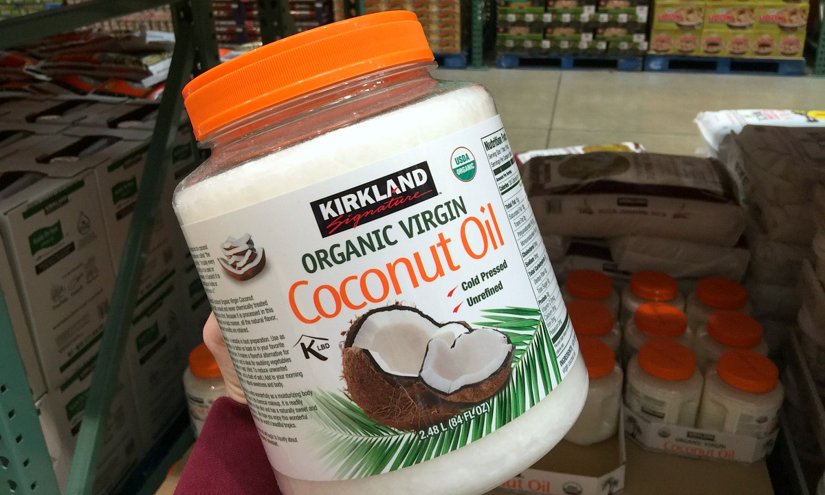 best deals keto staples — kirkland's coconut oil at costco
