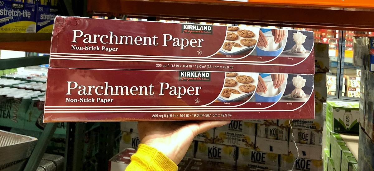 best deals keto staples — kirkland parchment paper 2-pack at costco