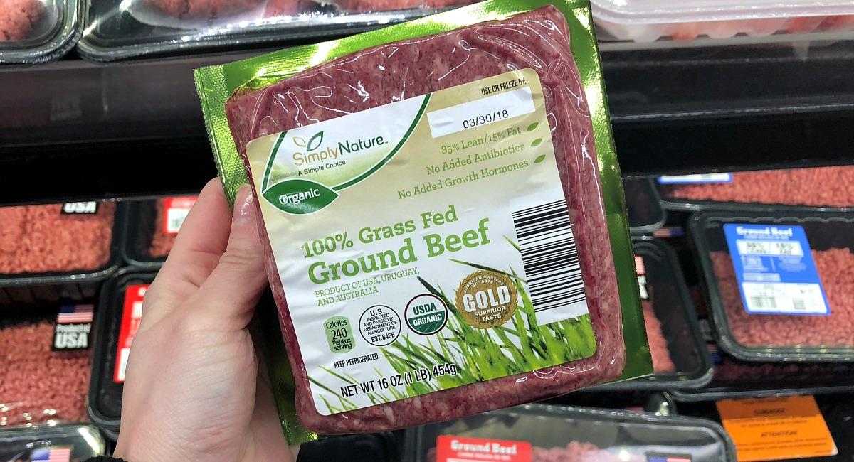best deals keto staples — grass-fed ground beef at aldi