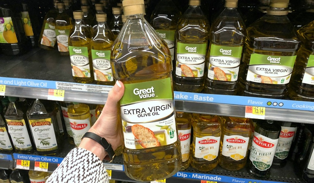 great value olive oil at walmart