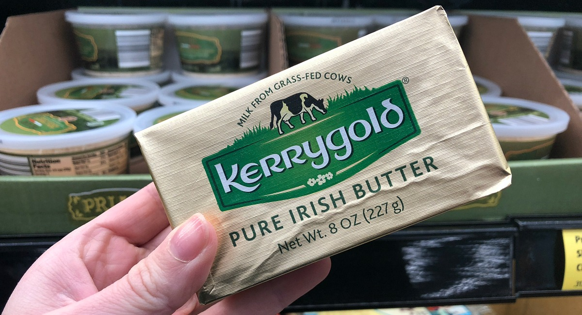 kerrygold grass fed butter at aldi