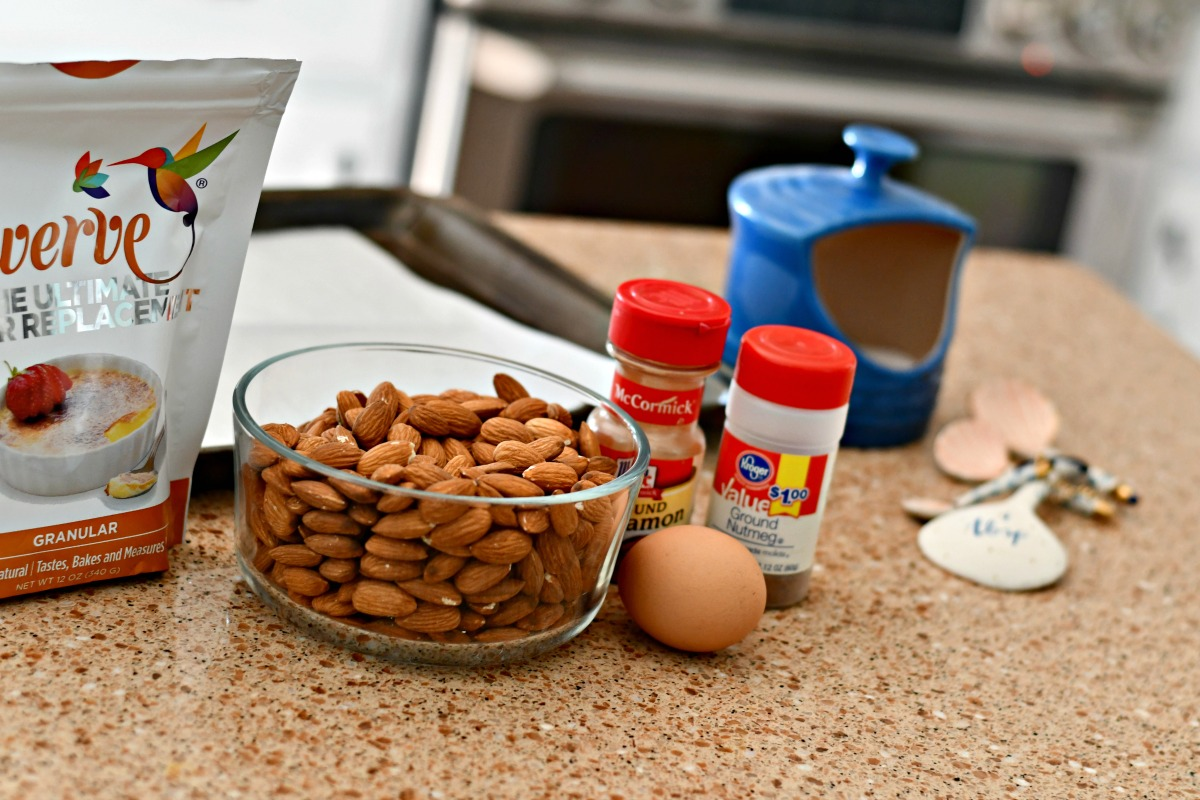 Sugar-Free Keto Roasted Spiced Almonds - ingredients