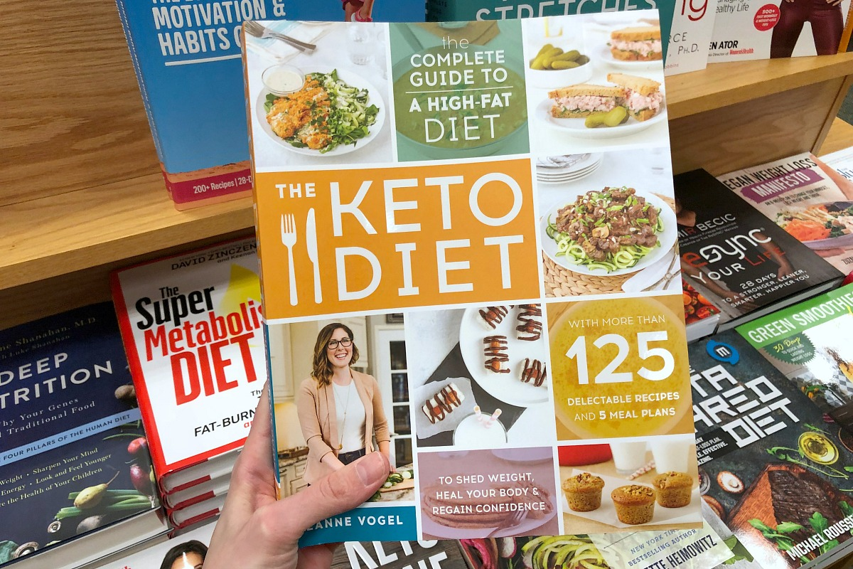 keto hacks, tips, tricks — keto diet book with tips and recipes