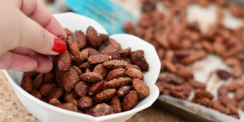 Sugar-Free Keto Roasted Spiced Almonds