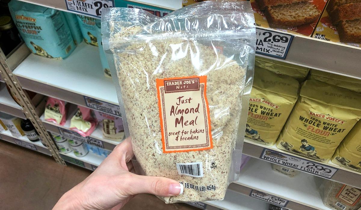 alternative flours — trader joe's almond meal