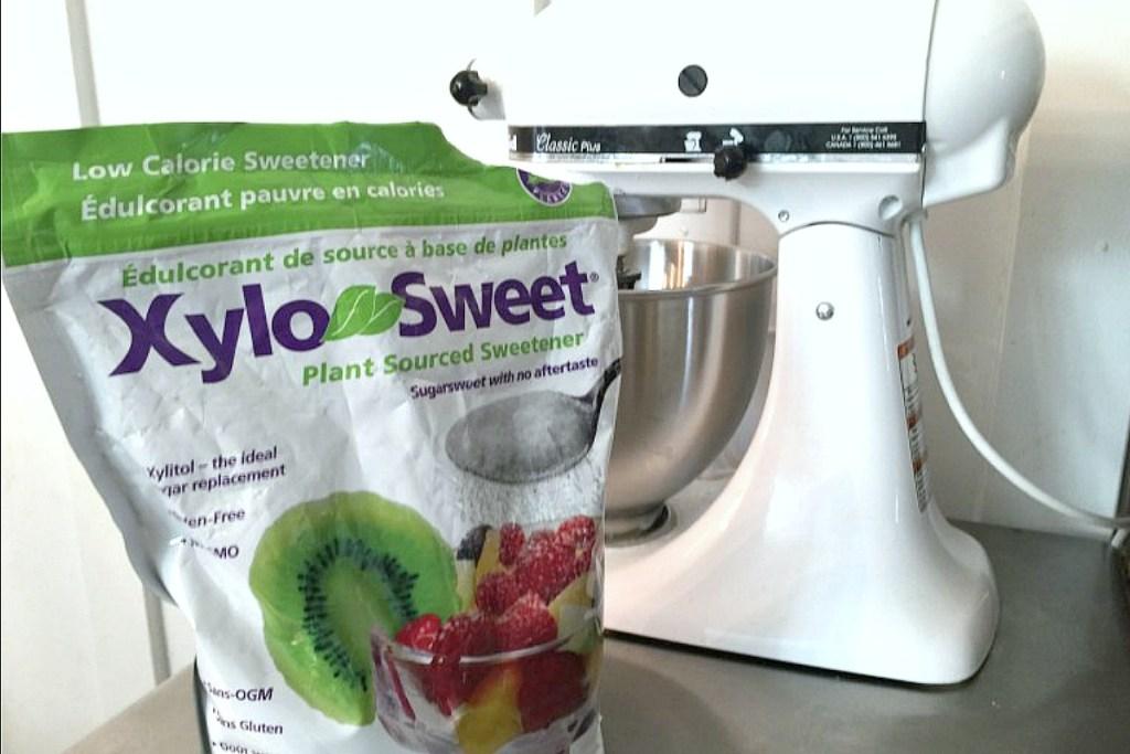 xylosweet sweetener by Kitchenaid mixer