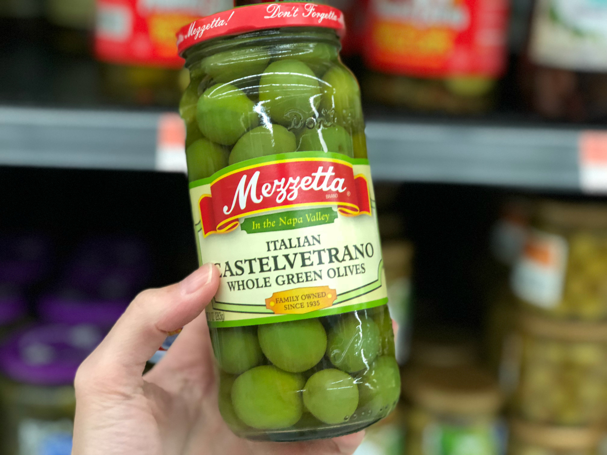 Italian Castelvetrano green olives are some of our favorite keto olives