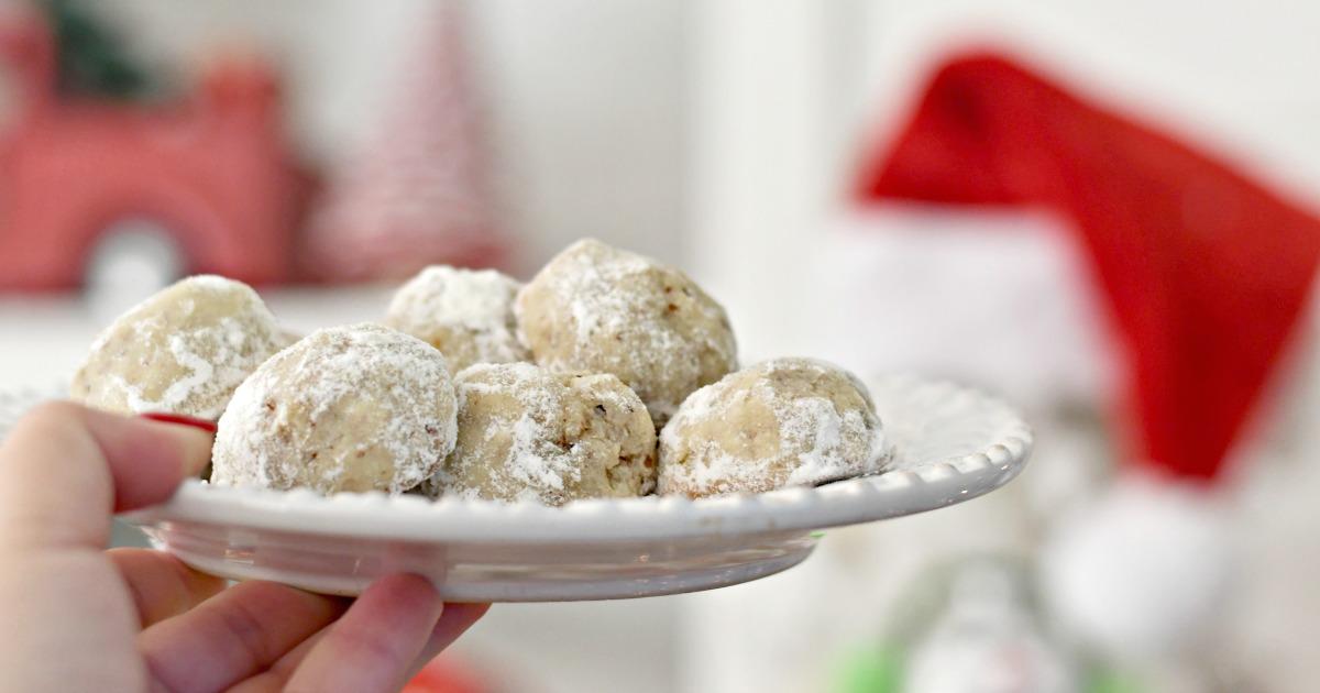 Sugar Free Keto Snowball Cookies