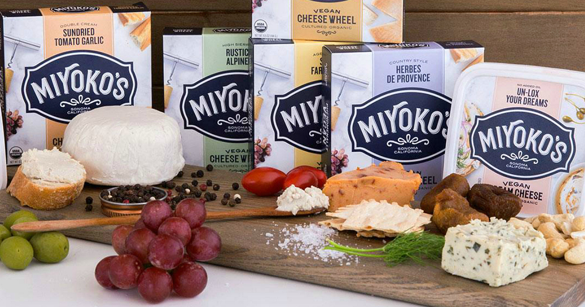Miyoko's vegan products