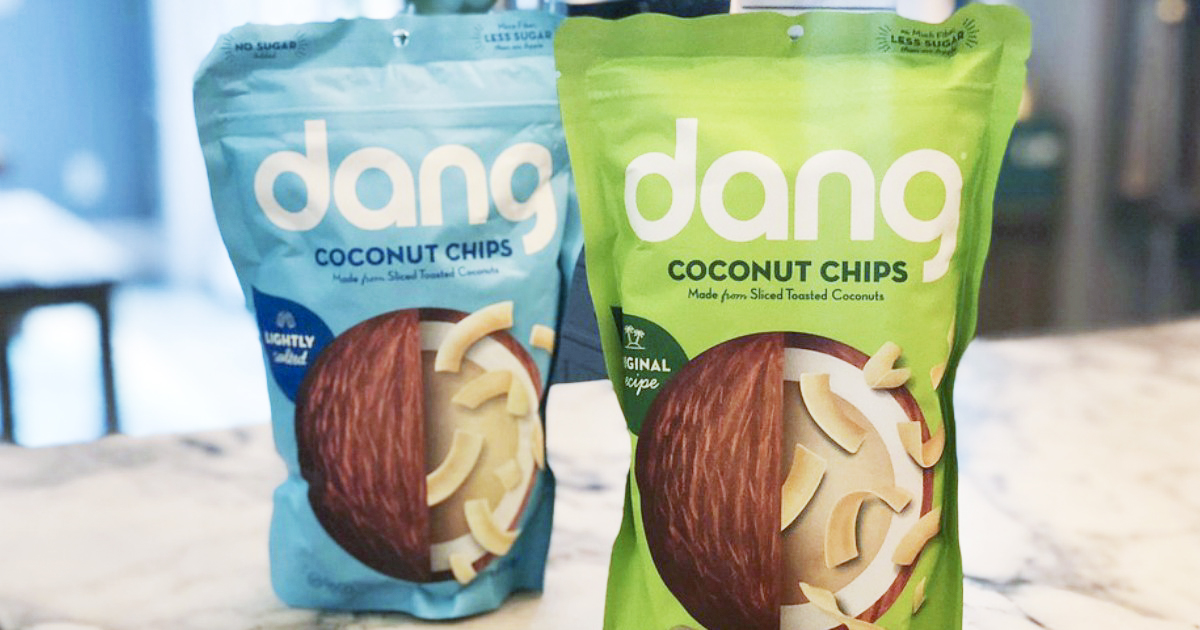 ultimate gift guide keto low-carb bacon — dang coconut chips