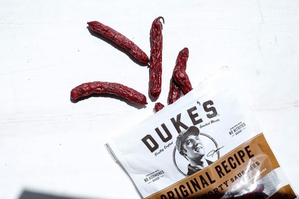 Bag of Duke's Smoked Sausages