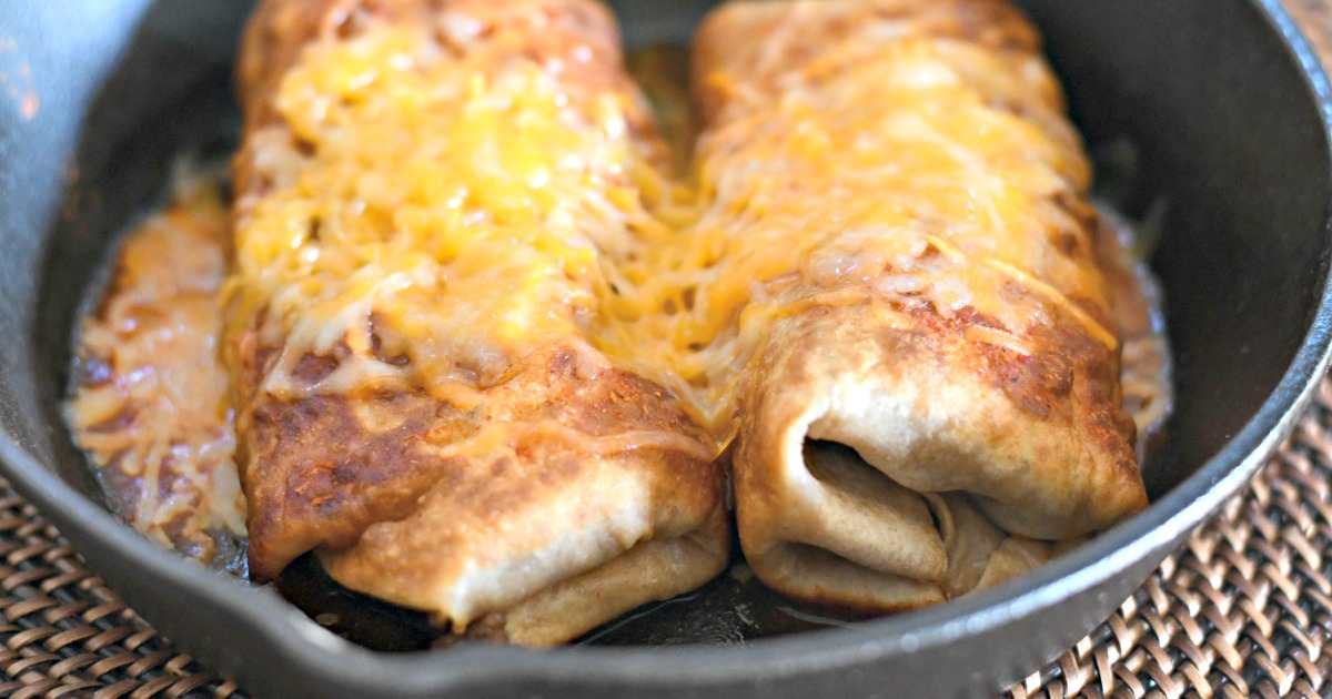 keto chimichangas mexican food – chimichangas in a pan