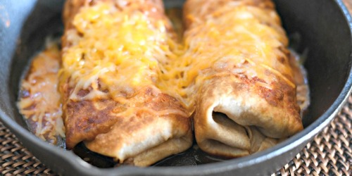 Mexican Food Lovers Rejoice with Low-Carb Chimichangas!