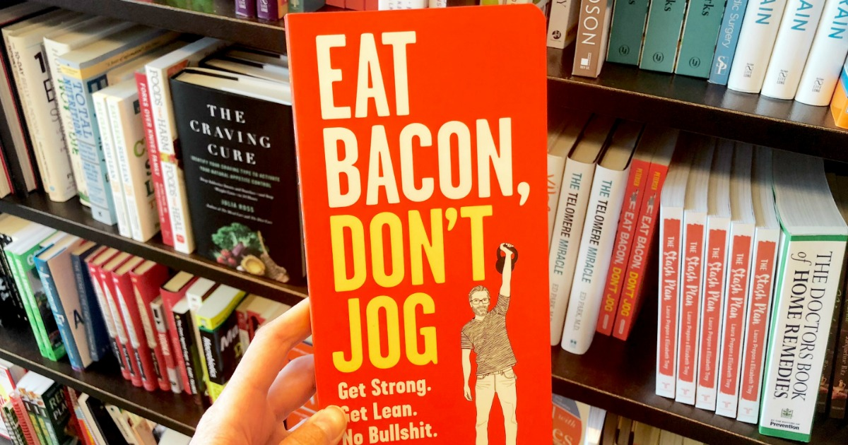 holding Eat Bacon, Don't Job book