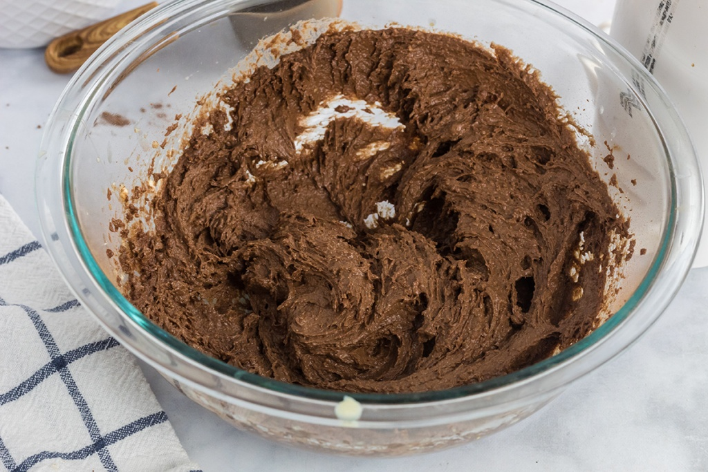 keto brownie cookie dough batter