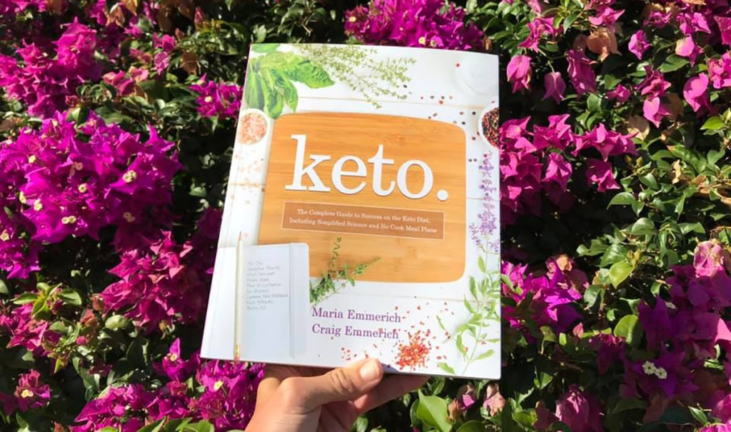 Keto. Cookbook and keto resource by Maria and Craig Emmerich