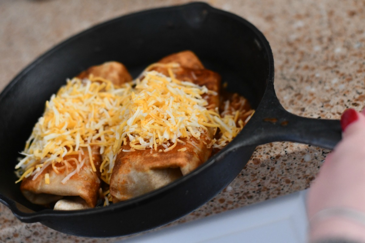 keto chimichangas mexican food – Cooked in a pan