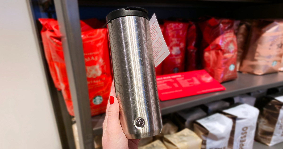 free starbucks coffee january – reusable tumbler