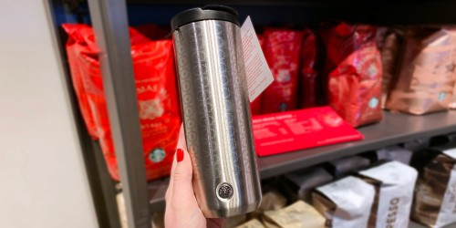 Get FREE Starbucks Coffee Every Day in January When You Buy the Travel Tumbler