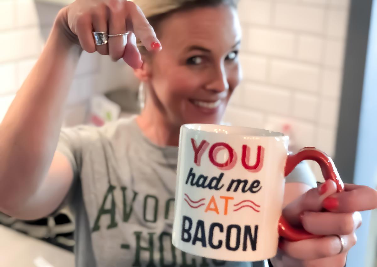 ultimate gift guide keto low-carb bacon — you had me at bacon mug