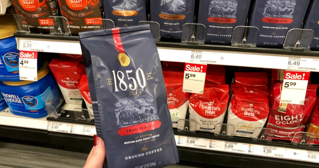 1850 Ground coffee at Target