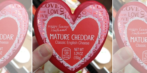 This Heart-Shaped Cheese is Coming to ALDI – and it's Perfect for Valentine's Day