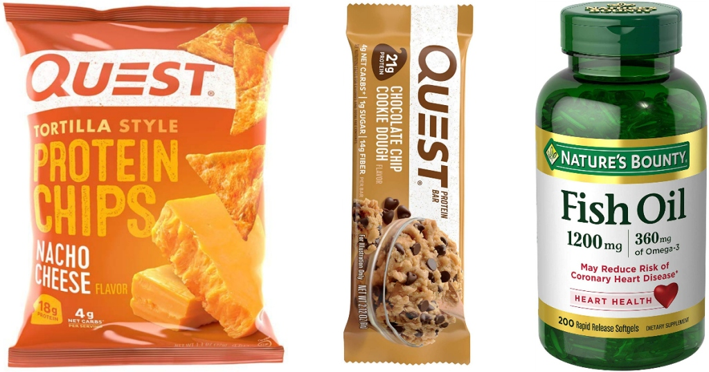 Amazon Quest protein products